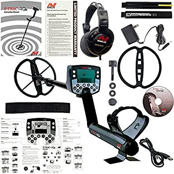 Minelab E-Trac Metal Detector with 11