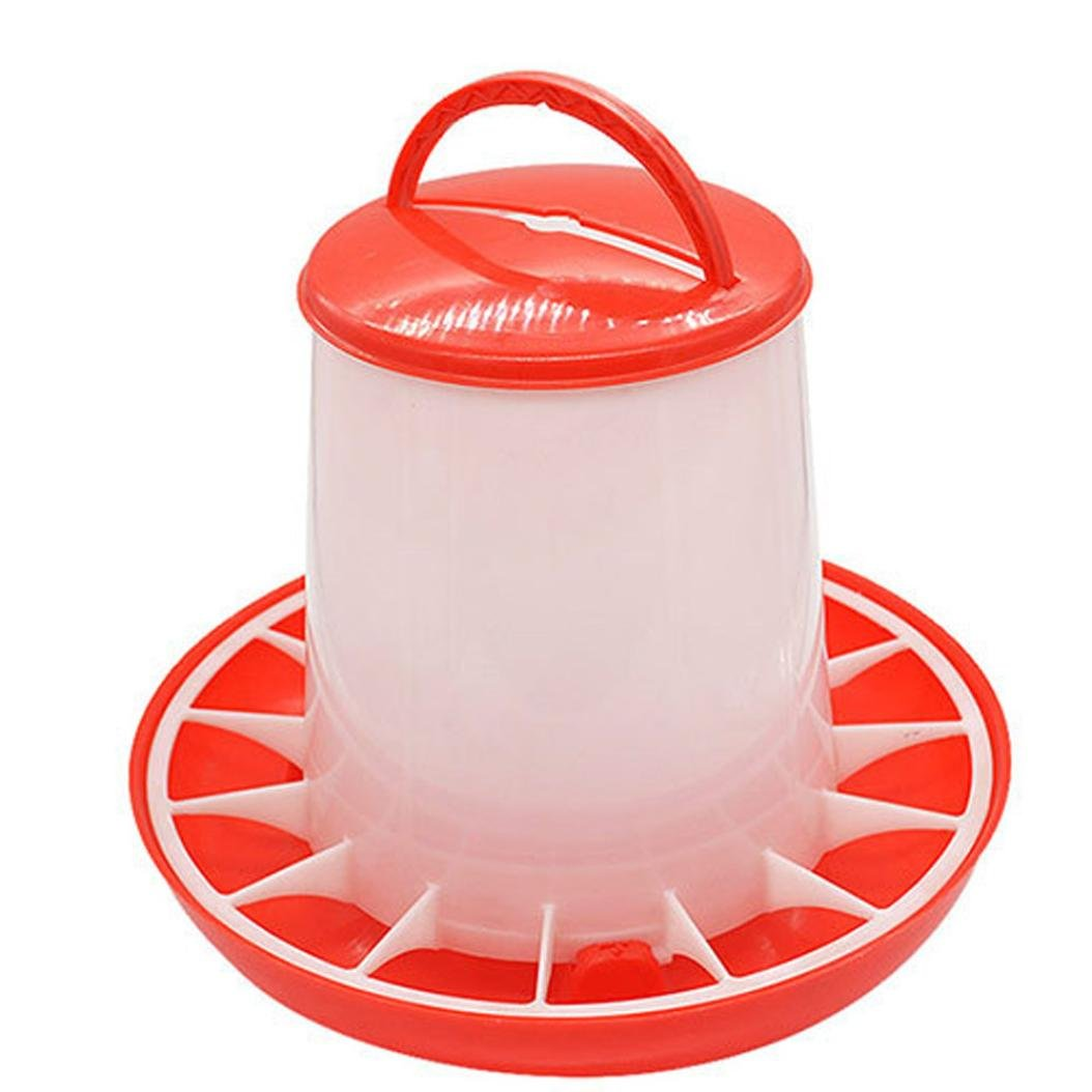 Swyss Plastic Food Feeders Automatic Chicken Feeder,Chicken Coop Accessories For 21st Century Chicken Owners (1.5kg)
