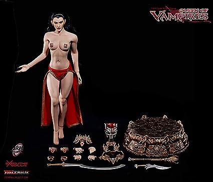 "TBLeague 1:12th Arkhalla Queen Vampires headsculpt Model For 6/"" Female Figure"