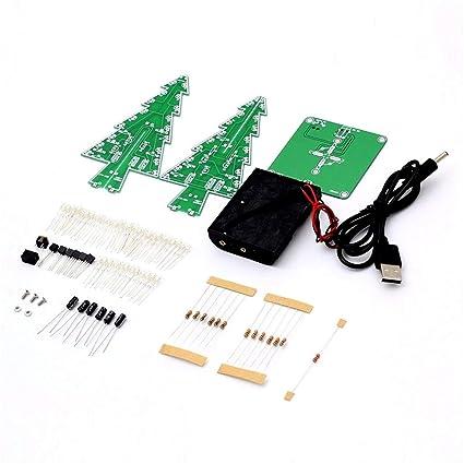 LasVogos del árbol del LED decoración LED Flash electrónico de Las Partes del Circuito del árbol