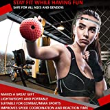 GlassFit Boxing Reflex Ball portable mma fighter hat punch Training Improve Speed Reactions, Equipment for Combat Sports Training Fitness Helps Improve sight Concentration Hand Eye Coordination
