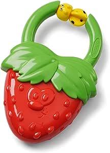 Vibrating Fruit Teether - Strawberry