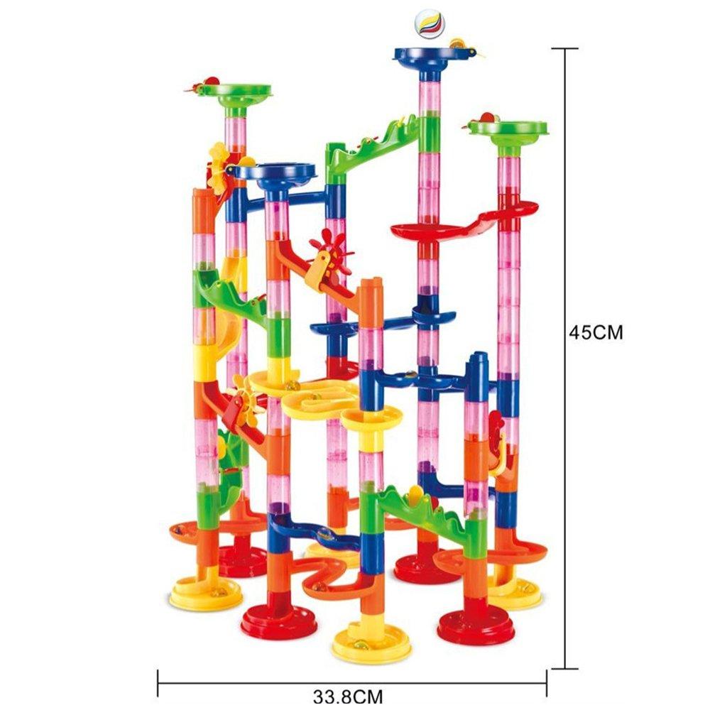 TR Turn Raise Juego de Mesa de construcción Marble Run (105 Piezas): Amazon.es: Juguetes y juegos