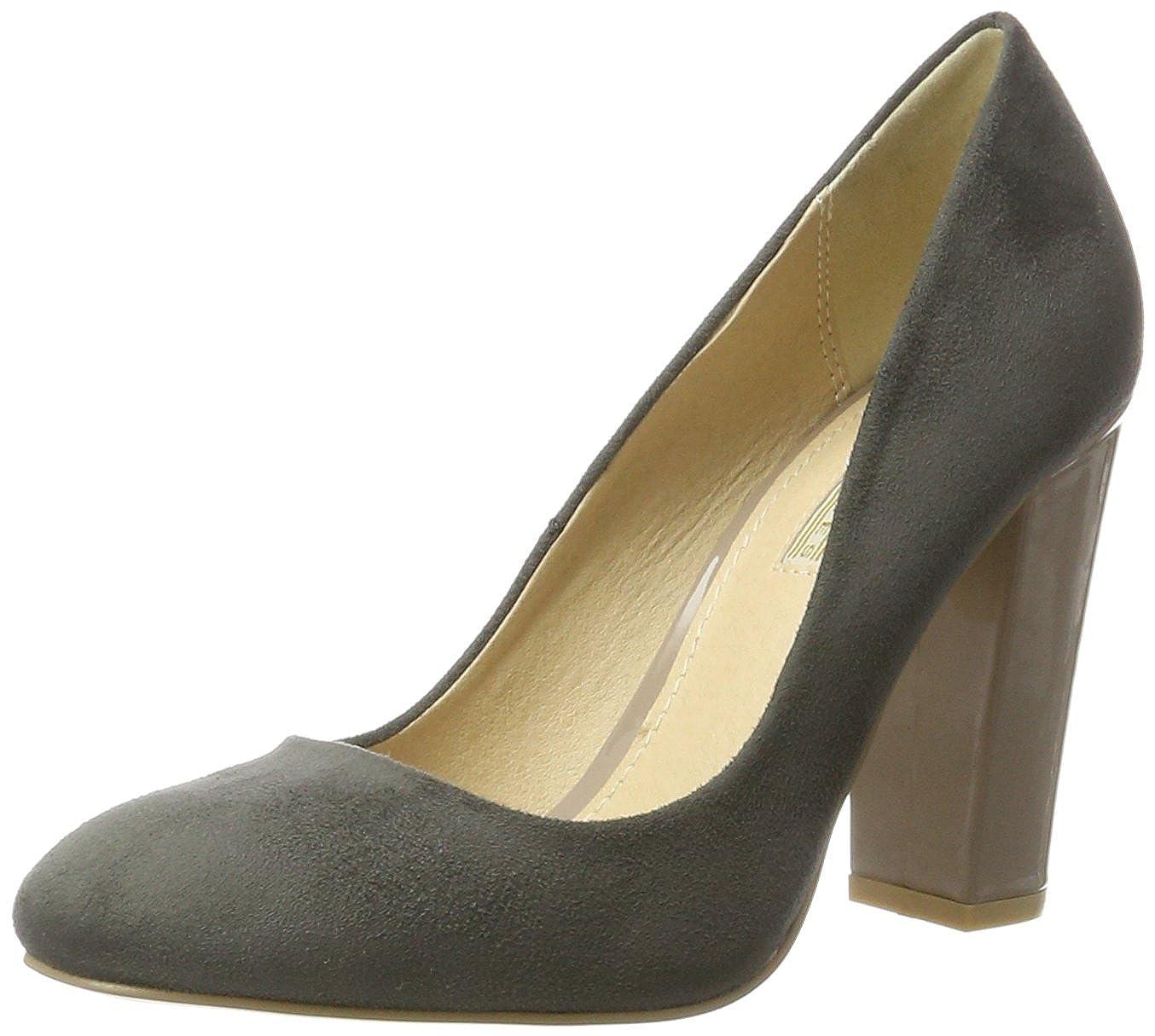 Buffalo Shoes C354a-1 P1804f IMI Suede, Atado Al Tobillo para Mujer