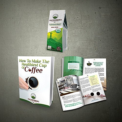 Peak Performance High Altitude Organic Coffee. No Pesticides, Fair Trade, GMO Free, And Beans Full Of Antioxidants! USDA Certified Organic Whole Bean Coffee