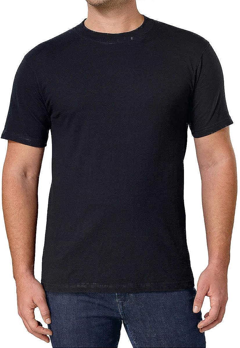 Amazon.com: Kirkland Men's Crew Neck Black T-Shirts (/Pack of 4): Clothing