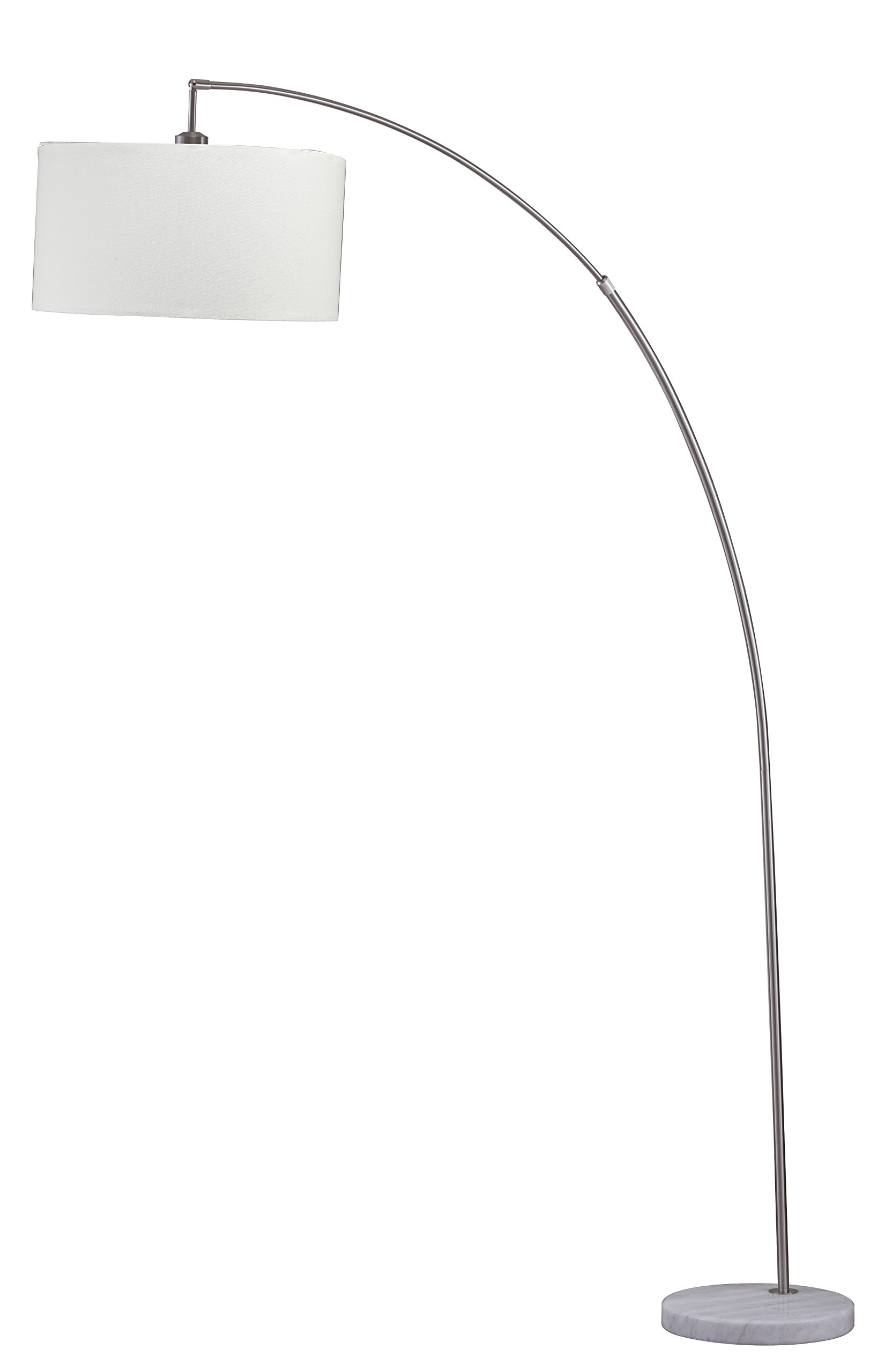 Major-Q 6931SN-LED 81'' H Steel Adjustable Arching Floor Lamp, by Major-Q (Image #2)