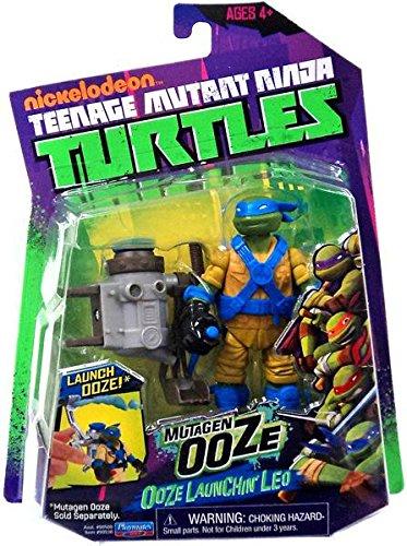 Teenage Mutant Ninja Turtles Mutant Ooze Launchin' Leo Action Figure