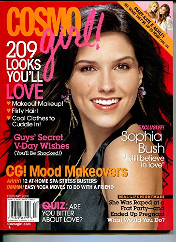 Cosmo Girl-2/200-Sophia Bush cover-Mary-Kate and ()