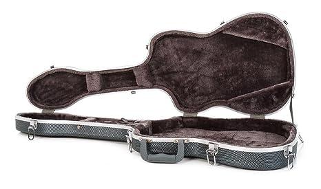 Stratocaster Guitarra eléctrica ABS duro caso - Carbono: Amazon.es ...
