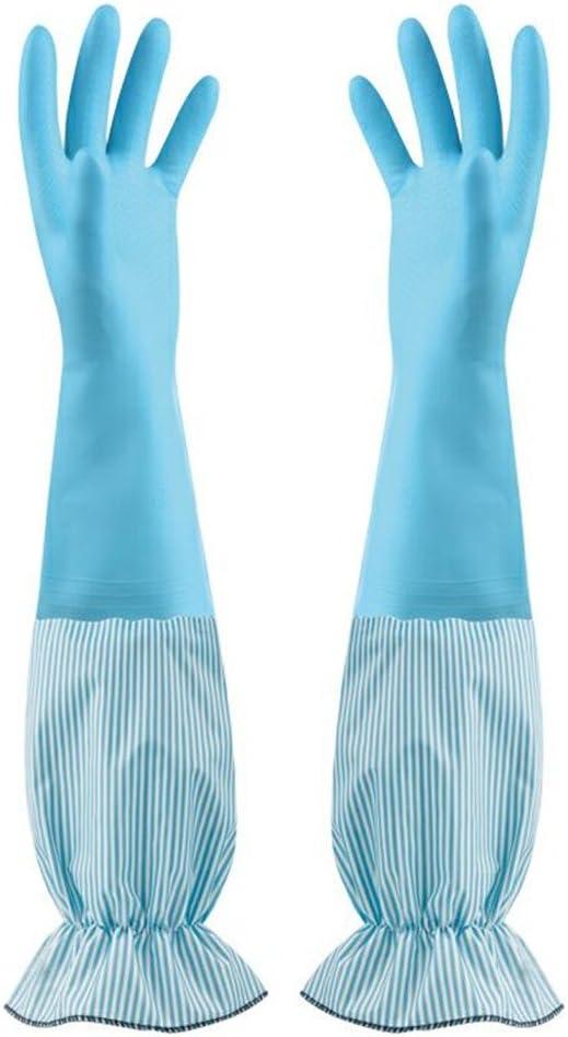 1 X Paire ménage gants en Caoutchouc Nettoyage washingup-taille moyenne