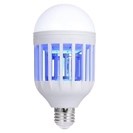 Bug Zapper, Mosquito Killer Lamp, Electronic Insect Killer, Mosquito Trap,  Fly Killer, Perfect for Indoor Home Garden Patio Backyard, 110V 10W E27 LED