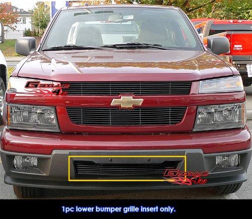 APS 2004-2011 Chevy Colorado/Canyon Bumper Black Billet Grille ()