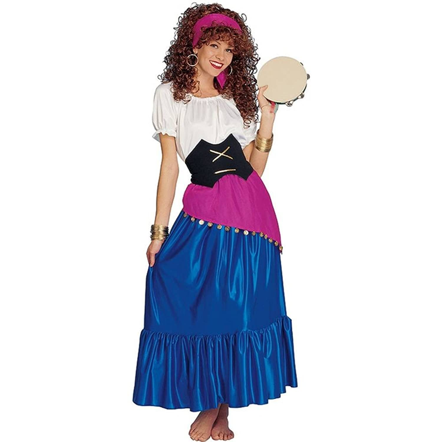 sc 1 st  Amazon.com & Amazon.com: Gypsy Adult Costume: Clothing