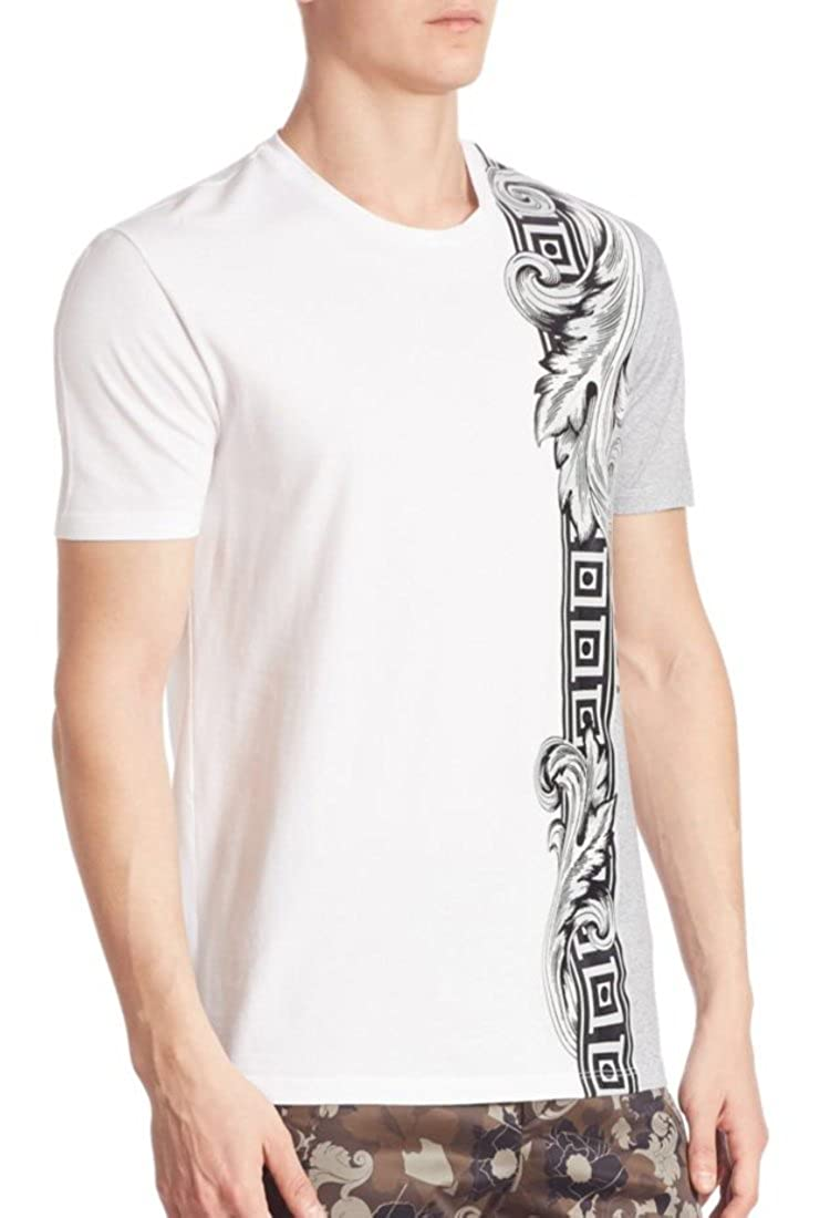 Versace Collection Giroco Graphic Tee $350 White