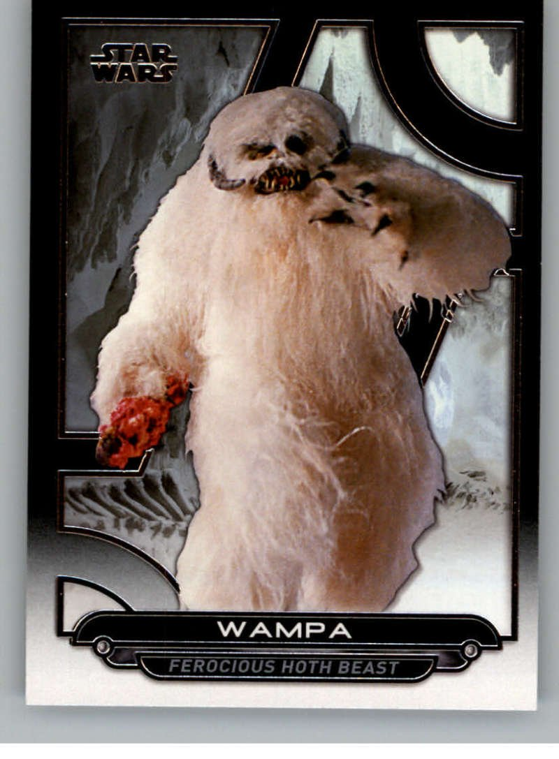 2017 Topps Star Wars Galactic Files Reborn #ESB-15 Wampa