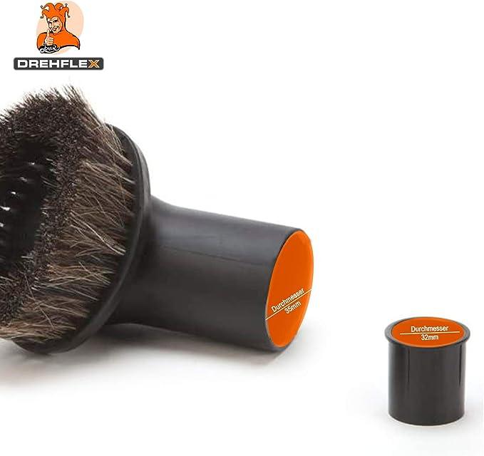DREHFLEX - Cepillo de muebles para aspiradoras - diámetro 32-35 mm ...