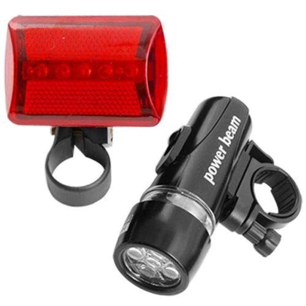 luz roja de Bicicleta Ndier 5 Faros de antorcha LED