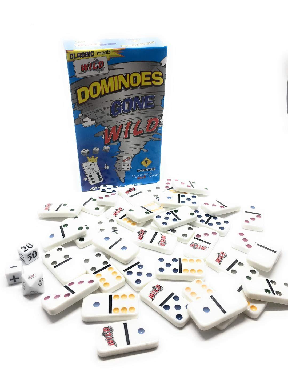 【史上最も激安】 Benji-Games Dominoes Gone Wild Wild (39 B07HPFCFJD pc Set) 2-5 (39 Players B07HPFCFJD, BIRTHDAY in 静岡:fbe7ae9e --- arianechie.dominiotemporario.com