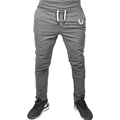 ef8d258a4e FUNOC Mens Slim Fit Tracksuit Bottoms Skinny Jogging Joggers Sweat ...