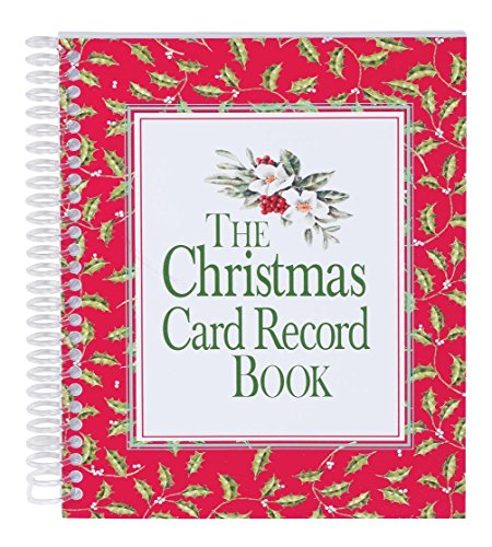 Christmas Card Record Book (Record Cards)