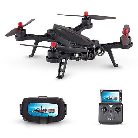 Linbing123 Drone con cámara HD 720P y Gafas de Realidad Virtual VR ...