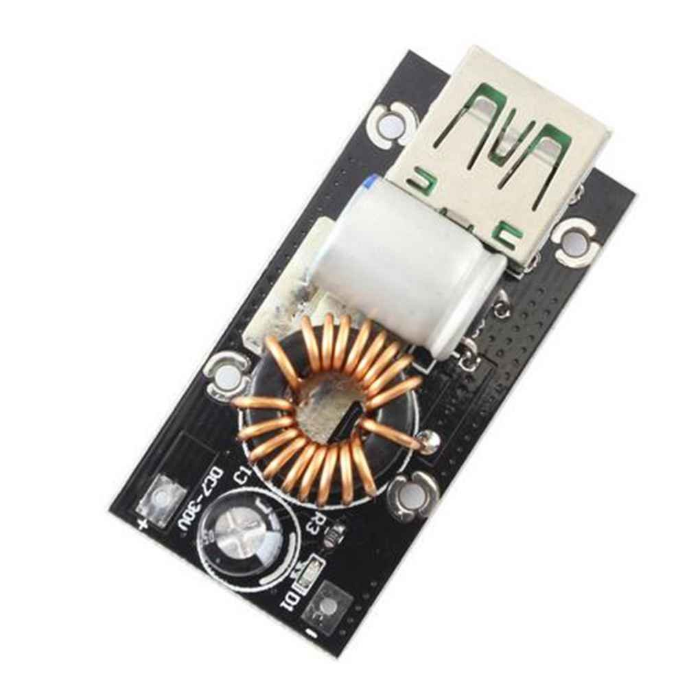 Arichtop 4a Dc Power Buck Voltage Converter 12v 24v To 5v 9v Step Laboratory Supply Down Charging Module With Single Usb Ports Business Industry Science