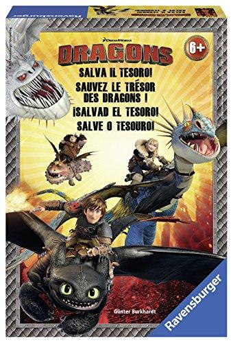 Ravensburger - 21132 - Dragon - Sauvez le trésor du dragon