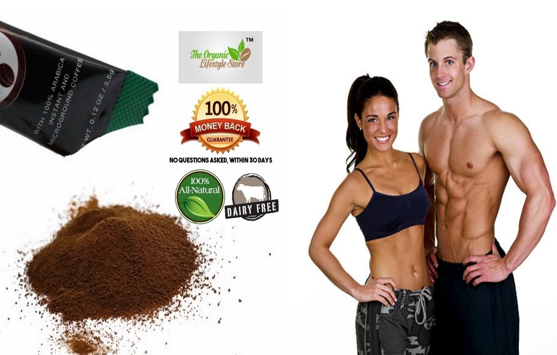PRIVATE LABELED: 9in1 Instant Coffee For Weight Loss & Detox! Constipation Relief & Appetite Suppressant! Sugar & Lactose Free! 100% Natural! 30 Packets/Box presented by The Organic Lifestyle Store