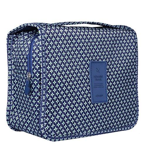 Heavy Duty Waterproof Hanging Toiletry Bag - Travel Cosmetic Makeup Organizer Bag for Women Girls Children Multifunction Travel Kit by Hokeeper (Image #2)