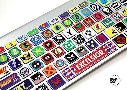 Price comparison product image Macbook Keyboard Super Hero Skin / Vinyl Decals