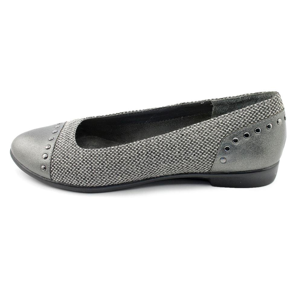 Aerosoles Know It All Two Tone Ballet Flats Silver Combo