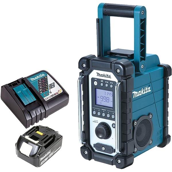 Makita Baustellenradio DMR107 Netzteil Ladegerät DC18RC 5,0 Ah Akku BL1850B