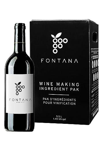 Merlot Fontana Wine Making Kit Premium
