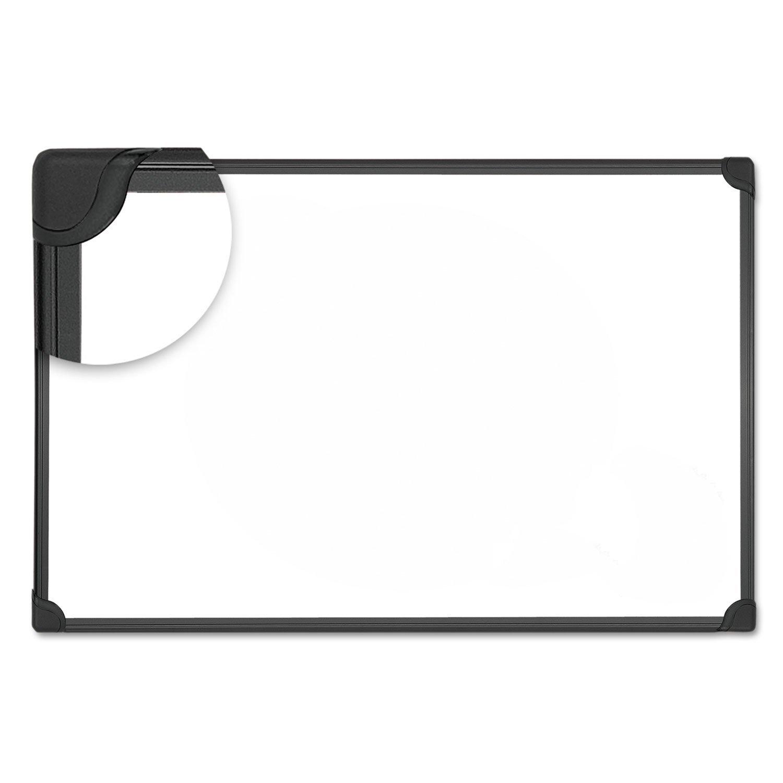 Universal 43732 Magnetic Steel Dry Erase Board, 24 x 18, White, Aluminum Frame