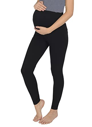 ba8ea58a3bf50f Today Is Her Women's Winter Thick and Warm Maternity Leggings, Fluffy  Inside by Over The