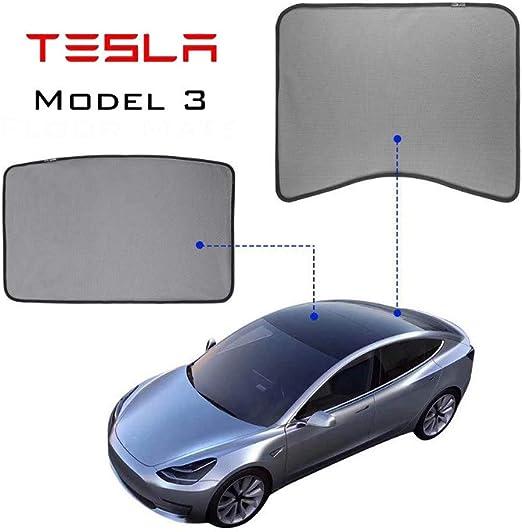 Lmzx Tesla Model 3 Parasole Pieghevole per Auto Modello 3