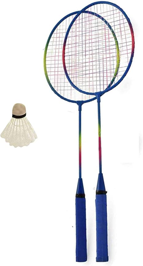 Baseline Badminton Sets 2 Player, 4 Player /& Family Sets 2 Player Yellow//Blue