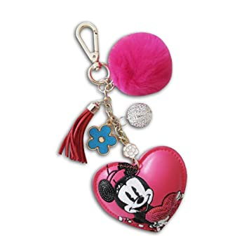 KICKKICK® Llavero Minnie Mouse Original Disney - de Piel ...