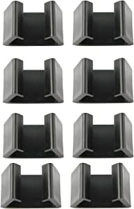 Youliang 8pcs Patio Wicker Furniture Clips 4.25cm Internal Slot Balcony Sofa Connecting Clip Furniture Fastener Connector