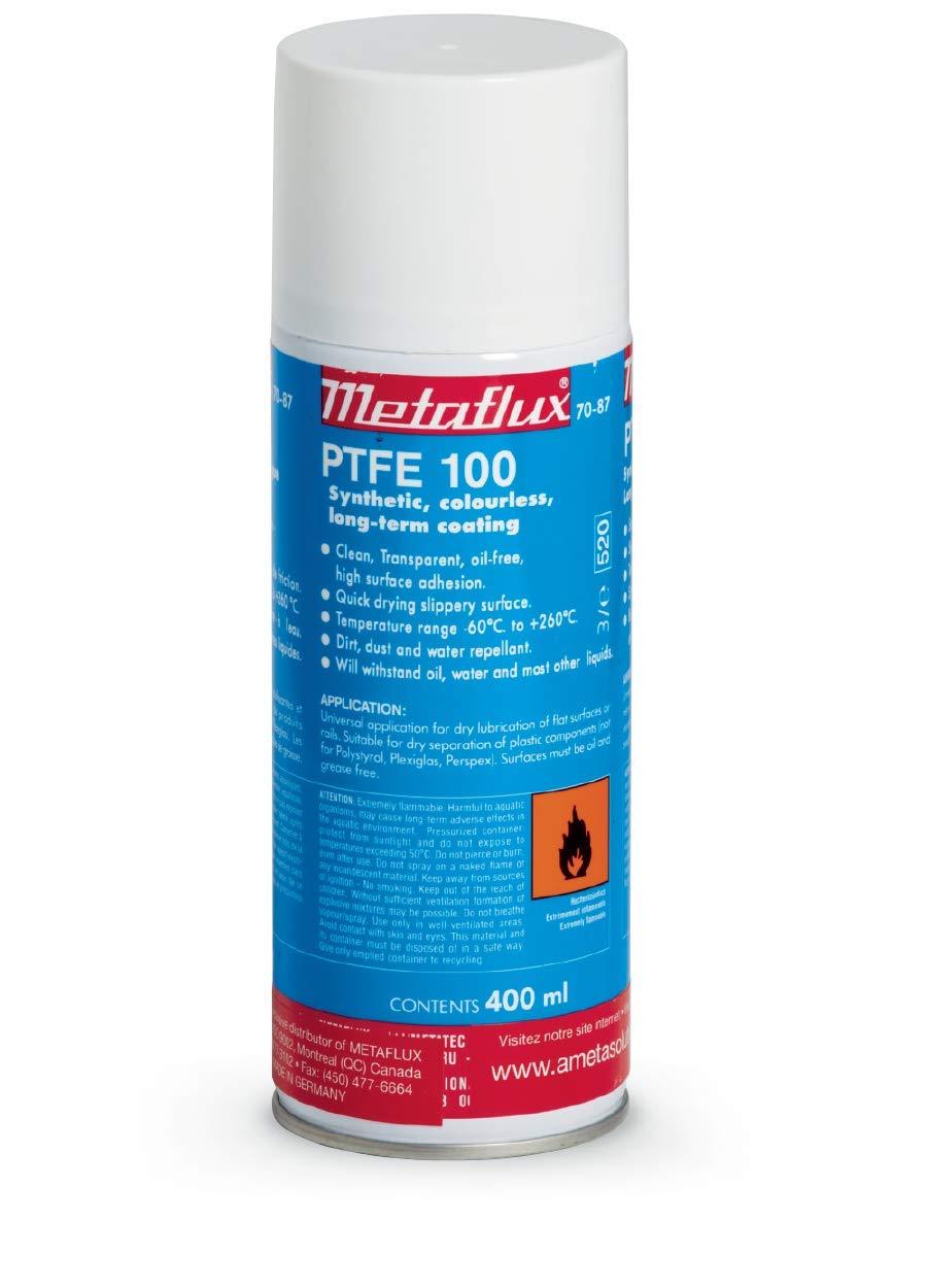PTFE-100 Spray Anti-Stick Lubricant Spray Metaflux 70-87