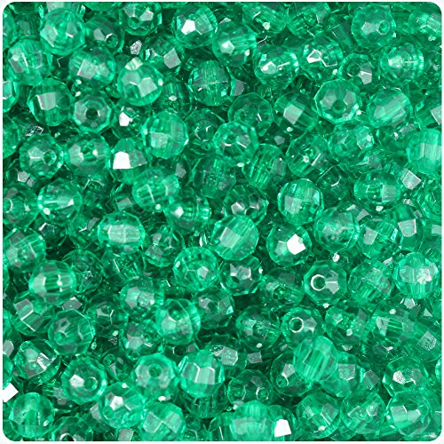Transparent Faceted Beads - 9