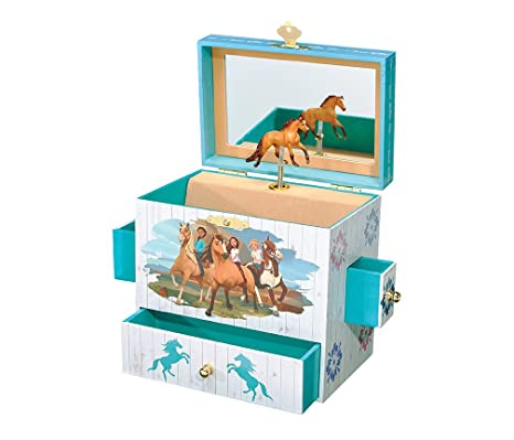 Horse Jewelry Box Fascinating Amazon Breyer Spirit Riding Free Spirit And Lucky Musical