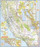 36x42 California State Official Executive Laminated Wall Map