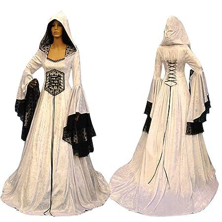BESTSOON-TGA - Disfraz de Halloween Retro para Cosplay, Disfraz ...