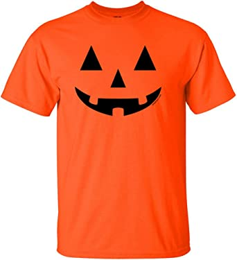 Amazon.com: JACK O' LANTERN PUMPKIN Halloween Costume T-Shirts in ...