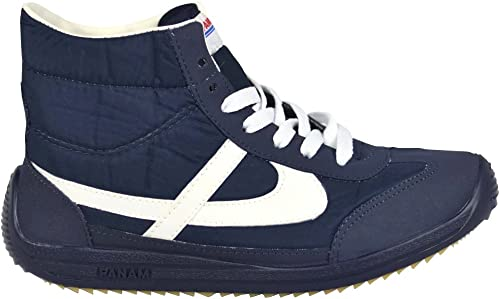 PANAM Tennis Shoes - Classic & Iconic - Handcrafted Zapatillas - Hi-Top