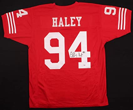262835c56 Image Unavailable. Image not available for. Color  Charles Haley Autographed  Signed San Francisco 49ers Jersey Memorabilia PSA DNA ...
