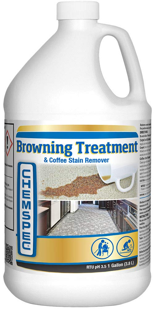 Chemspec Browning Treatment and Coffee Stain Remover, 1 Gal