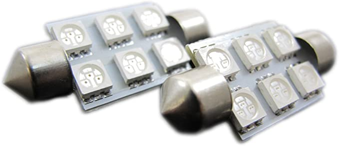 Blue Elite Mailers T10 168 194 5050 8-SMD LED Light Bulb 2 pieces